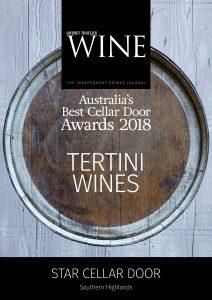 NSW 2018 Tertini